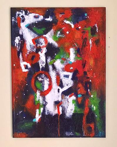 Christine Blum, o.T.240, Abstraktes, Abstrakte Kunst