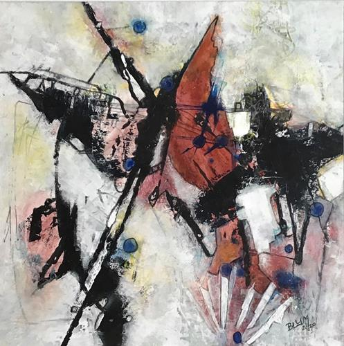 Christine Blum, o.T.241, Abstraktes, Abstrakte Kunst