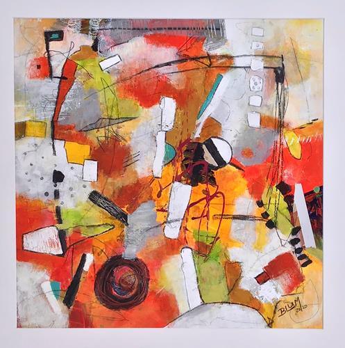 Christine Blum, o.T.242, Abstraktes, Abstrakte Kunst