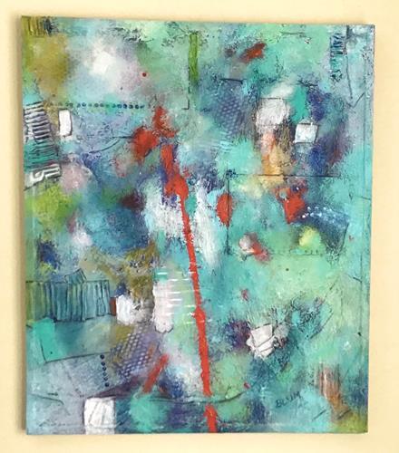 Christine Blum, o.T. 243, Abstraktes, Abstrakte Kunst