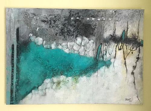 Christine Blum, o.T. 199/1, Abstraktes, Abstrakte Kunst