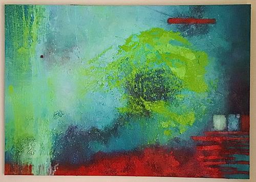 Christine Blum, o.T.244, Abstraktes, Abstrakte Kunst