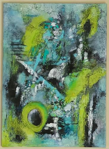 Christine Blum, o.T.245, Abstraktes, Abstrakte Kunst
