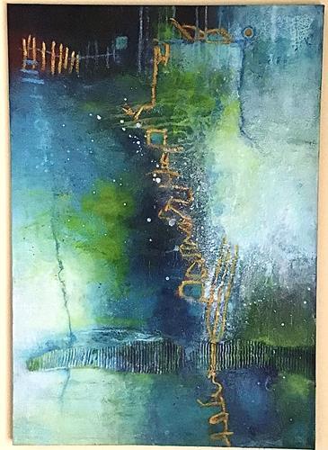 Christine Blum, o.T.2302, Abstraktes, Abstrakte Kunst