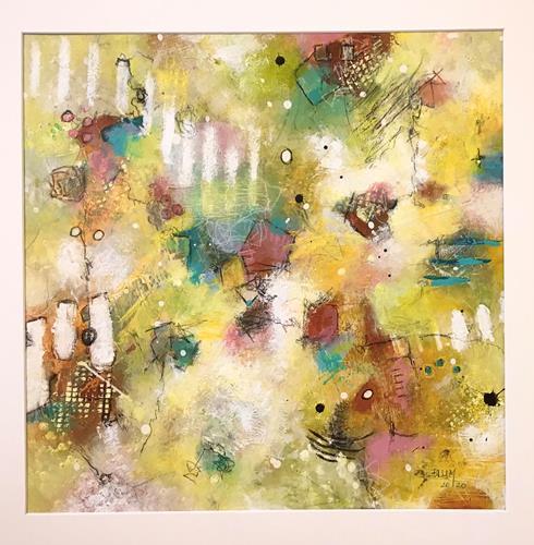 Christine Blum, o.T.246, Abstraktes, Abstrakte Kunst