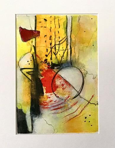 Christine Blum, o.T.249, Abstraktes, Abstrakte Kunst