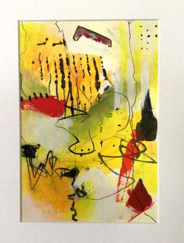 Christine Blum, o.T.250, Abstraktes, Abstrakte Kunst