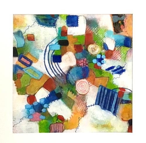 Christine Blum, o.T.256, Abstraktes, Abstrakte Kunst, Expressionismus