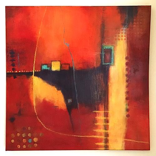 Christine Blum, o.T.263, Abstraktes, Abstrakte Kunst