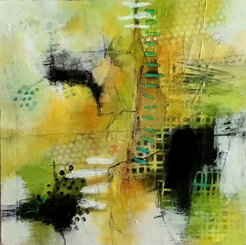 Christine Blum, o.T.269, Abstraktes, Abstrakte Kunst