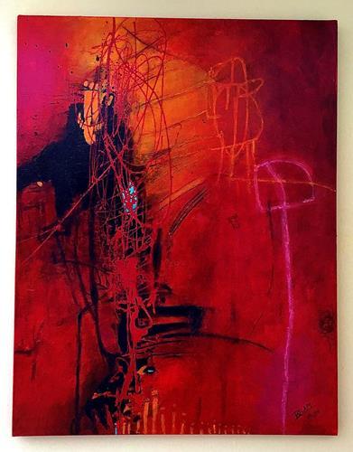Christine Blum, O.T. 276, Abstraktes, Abstrakte Kunst