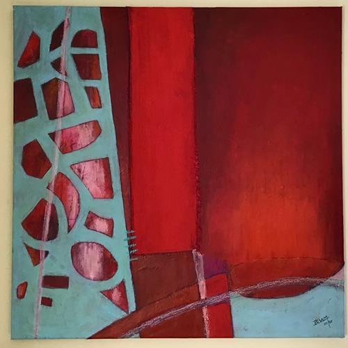 Christine Blum, o.T.279, Abstraktes, Abstrakte Kunst