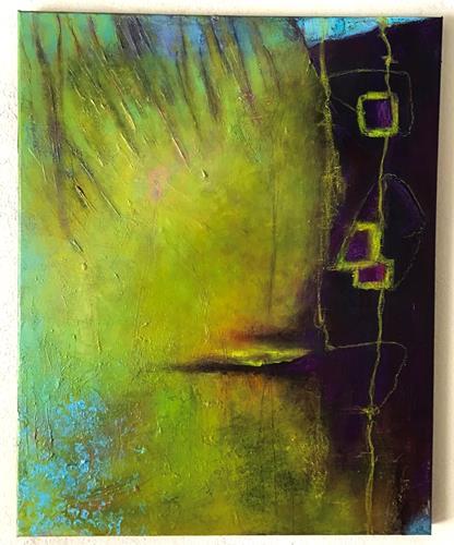 Christine Blum, o.T.281, Abstraktes, Abstrakte Kunst