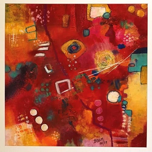 Christine Blum, o.T.283, Abstraktes, Abstrakte Kunst, Expressionismus