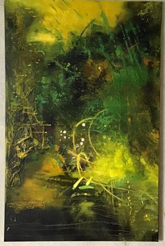 Christine Blum, O.T.285, Abstraktes, Abstrakte Kunst, Expressionismus