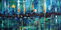 Niki-Katiki-Gefuehle-Freude-Abstraktes-Moderne-Expressionismus