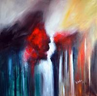 Niki-Katiki-Gefuehle-Abstraktes-Moderne-Expressionismus