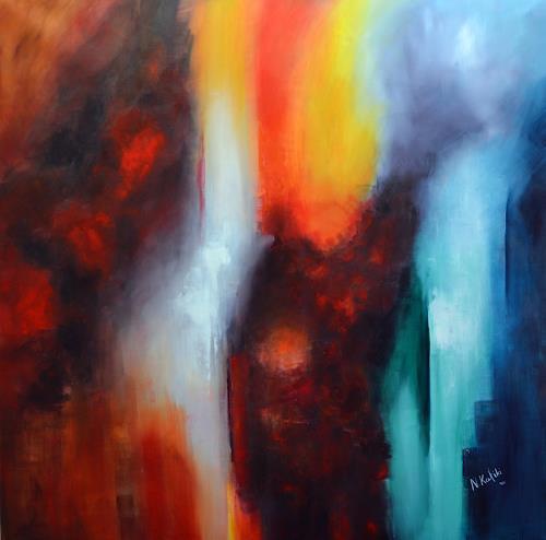 Niki Katiki, Explosion, Abstraktes, Gefühle, Expressionismus