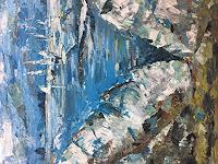 Anthony-Joebac-Natur-Wasser-Landschaft-See-Meer-Moderne-Impressionismus-Neo-Impressionismus