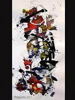 Ruediger-Philipp-Abstraktes-Fantasie-Moderne-Abstrakte-Kunst-Informel