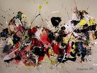 Ruediger-Philipp-Abstraktes-Abstraktes-Moderne-Abstrakte-Kunst-Action-Painting