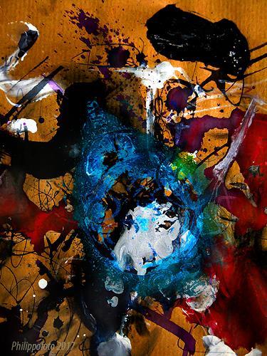 Rüdiger Philipp, wie soll ich das denn lernen ?, Abstraktes, Abstraktes, Abstrakter Expressionismus
