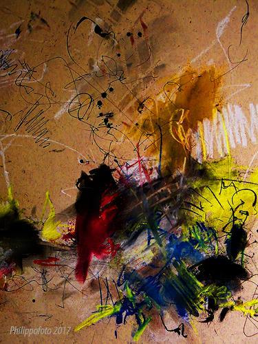 Rüdiger Philipp, oh.....das war ein Versehen !, Abstraktes, Abstraktes, Abstrakter Expressionismus