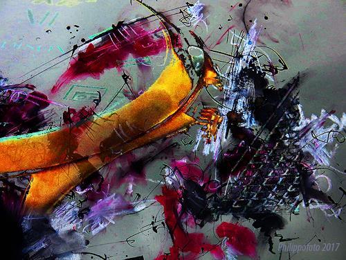 Rüdiger Philipp, so, wie mich meine Beine tragen !, Abstraktes, Abstraktes, Abstrakter Expressionismus