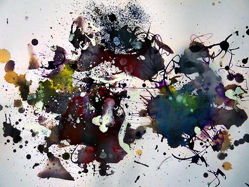 Rüdiger Philipp, Achtschläfer, Abstraktes, Abstraktes, Abstrakter Expressionismus