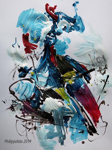 Rüdiger Philipp, mit dem !, Abstraktes, Abstraktes, Abstrakter Expressionismus