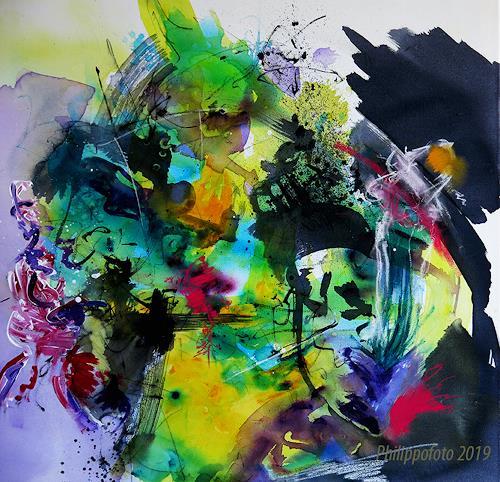 Rüdiger Philipp, das geht gut !, Abstraktes, Abstraktes, Abstrakter Expressionismus