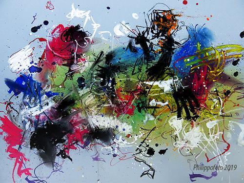 Rüdiger Philipp, angst,...wovor ?, Abstraktes, Abstraktes, Abstrakter Expressionismus