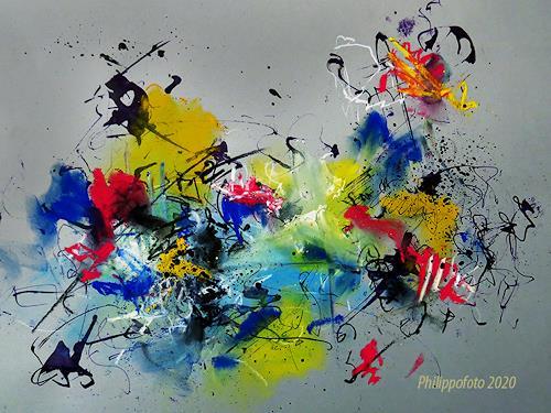 Rüdiger Philipp, noch nicht vergessen !, Abstraktes, Abstraktes, Abstrakter Expressionismus