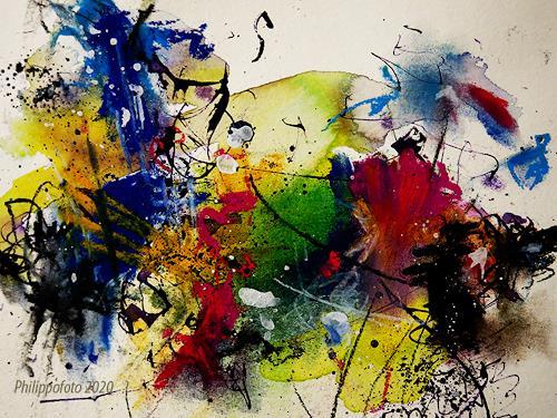 Rüdiger Philipp, komm doch !, Abstraktes, Abstraktes, Abstrakter Expressionismus