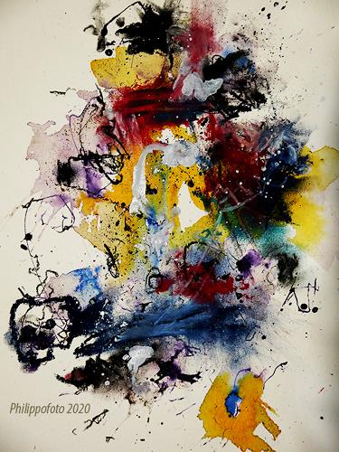 Rüdiger Philipp, momentan gut, Abstraktes, Abstraktes, Abstrakter Expressionismus
