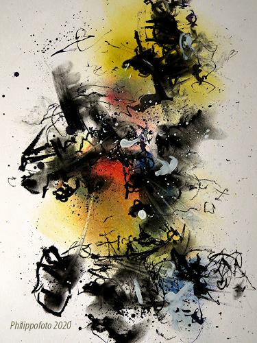 Rüdiger Philipp, bis dann !, Abstraktes, Abstraktes, Abstrakter Expressionismus