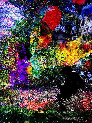 Rüdiger Philipp, ...und eine Nacht, Abstraktes, Abstraktes, Abstrakter Expressionismus