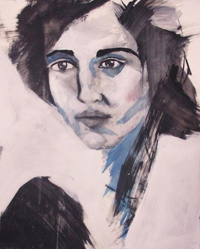 Richard Kuhn, papers diary 304/17, Menschen: Frau, Menschen: Porträt, Gegenwartskunst, Expressionismus