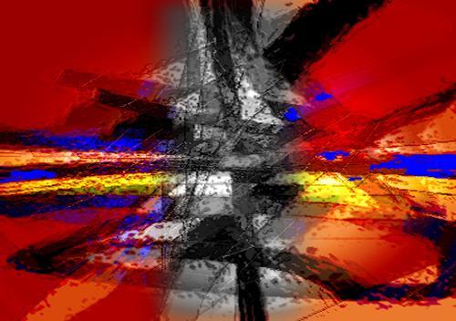 Santo Mazza, O/T, Abstraktes, Abstraktes, Abstrakte Kunst