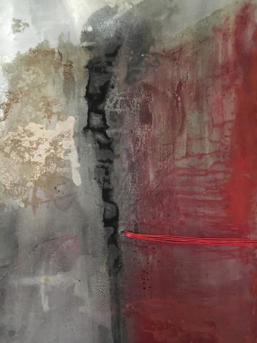 Dagmar Heß, O/T, Abstraktes, Abstrakte Kunst, Abstrakter Expressionismus