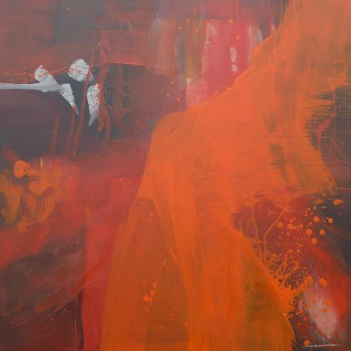 Anne Fabeck, Traum II, Abstraktes, Abstrakte Kunst, Abstrakter Expressionismus