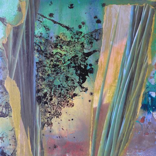 Anne Fabeck, IMG-948, Diverse Pflanzen, Abstrakte Kunst, Expressionismus