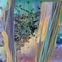 Anne-Fabeck-Diverse-Pflanzen-Moderne-Abstrakte-Kunst