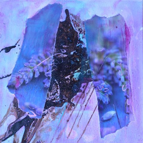Anne Fabeck, IMG-955, Diverse Pflanzen, Abstrakte Kunst, Expressionismus