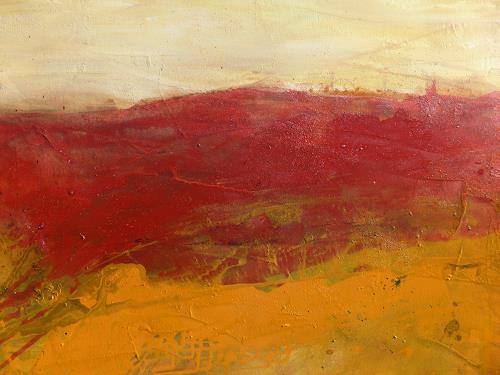Anne Fabeck, IMG-931, Landschaft: Sommer, Abstrakte Kunst