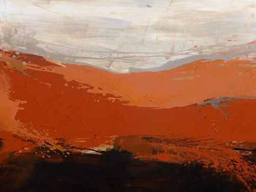 Anne Fabeck, IMG-923, Landschaft: Berge, Abstrakte Kunst