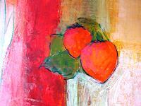 Anne-Fabeck-Pflanzen-Pflanzen-Fruechte-Moderne-Abstrakte-Kunst
