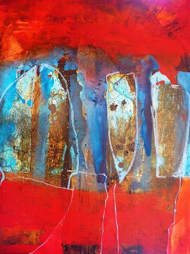 Anne Fabeck, oT / IMG 302, Abstraktes, Abstrakte Kunst, Abstrakter Expressionismus