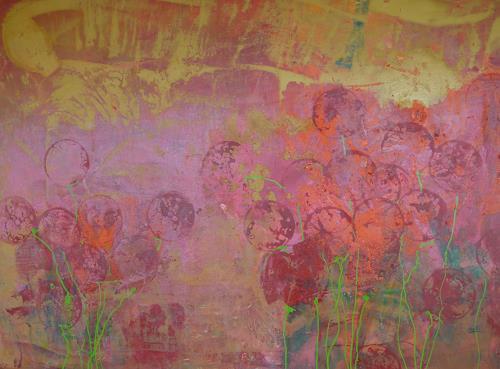 Anne Fabeck, oT / IMG 149, Pflanzen, Pflanzen: Blumen, Abstrakte Kunst, Expressionismus