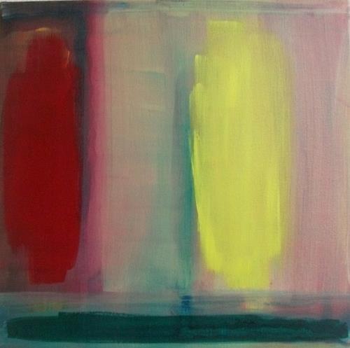 ILuise, Übers Land schauen, Landschaft, Diverse Gefühle, Abstrakte Kunst, Expressionismus
